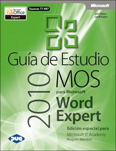 Imagen de Guía de Estudio MOS para Microsoft Word Expert 2010