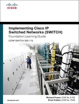 Imagen de CCNP SWITCH 300-115. Foundation Learning Guide